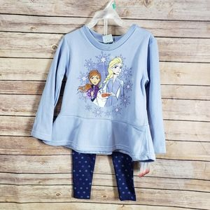 Disney Frozen Outfit Elsa Ana Sweatshirt Pants